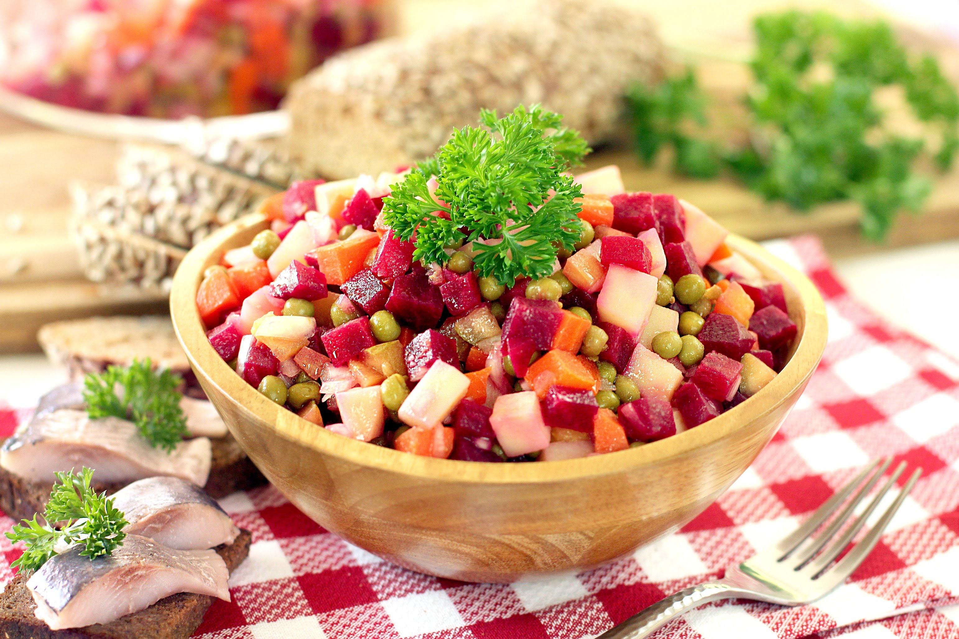 «Апрелич» и другие постные салаты