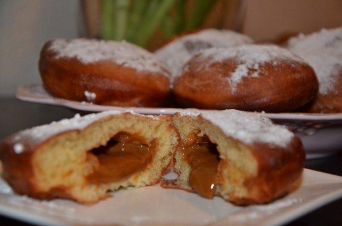 Чешские пончики — просто и вкусно