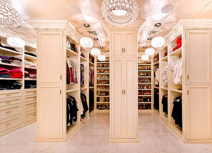 Красивые и функциональные гардеробные комнаты
