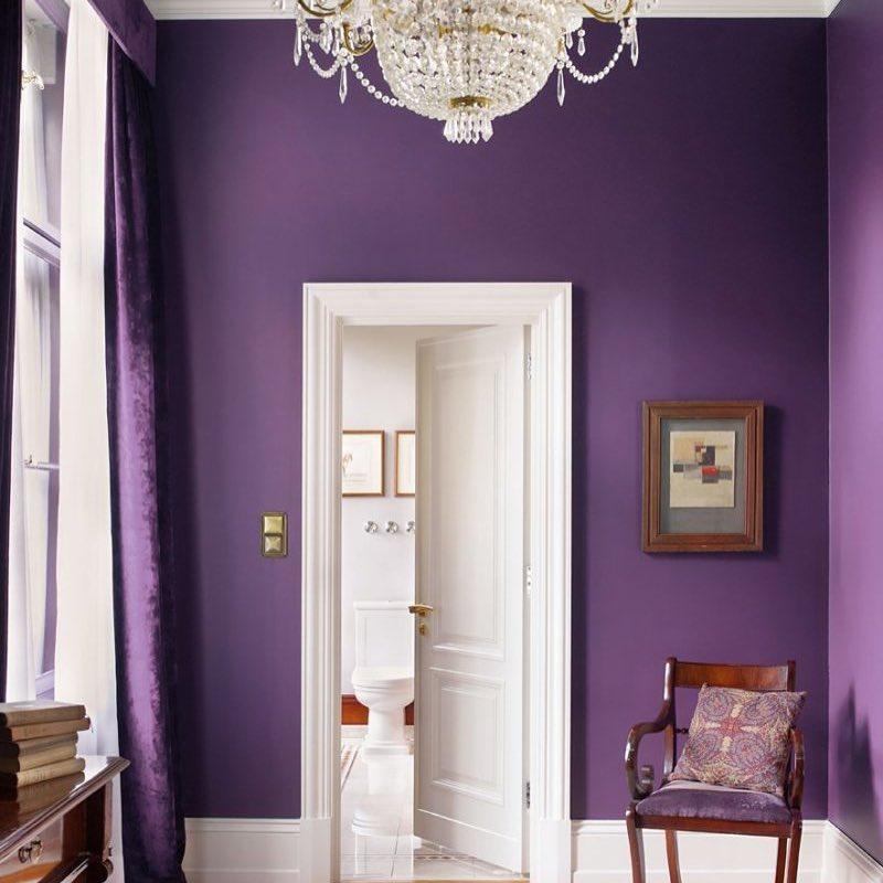 Варианты цветов для покраски стен в доме