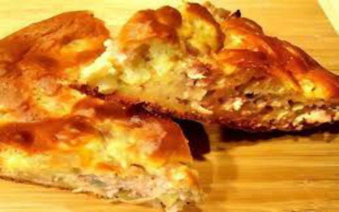 Простой в приготовлении мясной пирог