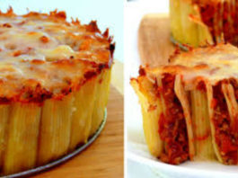 Интересный рецепт приготовления лазаньи