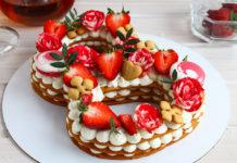 Мастер-класс по изготовлению тортов в форме букв и цифр
