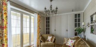Крутая идея дизайна интерьера однокомнатной квартиры в стиле прованс