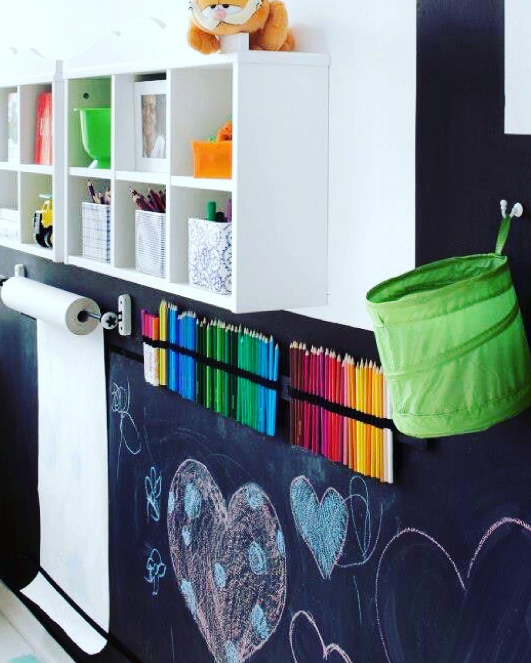 Хранение мелочей для детской или мастерской