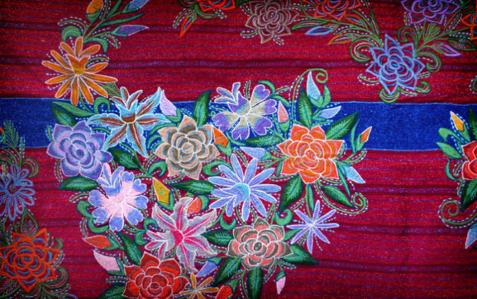 Подборка фотографий вышивки в мексиканском стиле