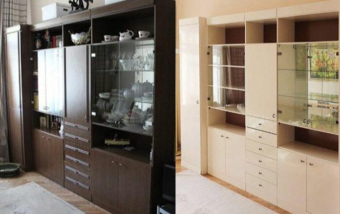 Как оригинально преобразить старую советскую мебель