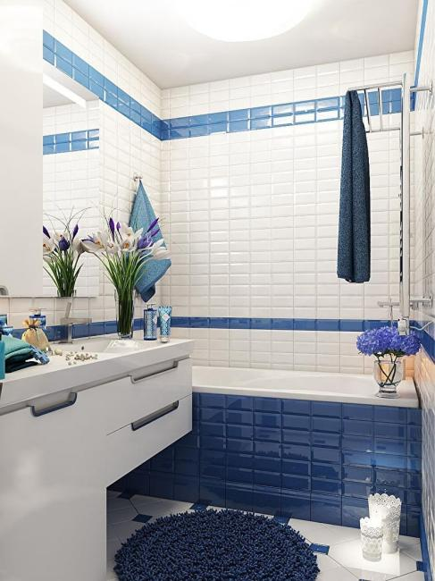 Оформление ванной 3 кв. м