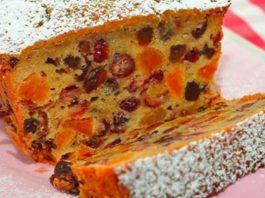 Полезный кекс из сухофруктов (видео)