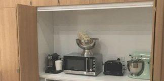 8 удобных вариантов размещения на кухне мелкой бытовой техники