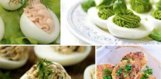 Фаршируем яйца: 5 вкусных начинок