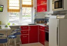 Какой дизайн подойдет для угловой кухни с окном