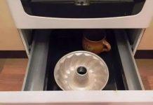 Ящик под духовкой предназначен не для сковородок