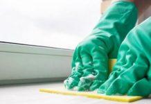 Чем отмыть пластиковый подоконник