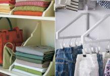9 способов складывать одежду так, чтобы она занимала меньше места в шкафу