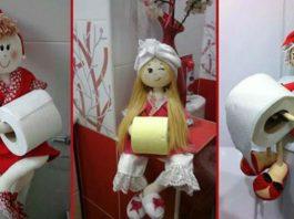 Оригинальные идеи держателей для туалетной бумаги