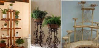 Напольные подставки под цветы — самодостаточное дополнение к интерьеру