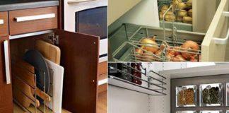 16 практичных идей для хранения кухонных принадлежностей