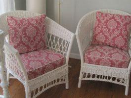 Как сшить подушки на стулья