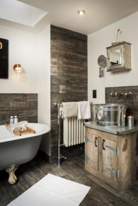 Ванная комната на первом этаже. | Фото: phiconcepts.co.uk.