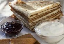 Блины на кефире — рецепты приготовления блинов с дырочками