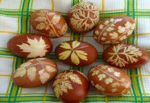 12 лучших способов красить яйца луковой шелухой