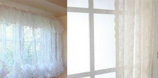 Стираем тюль и воздушные занавески правильно