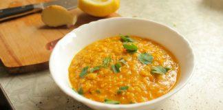 Суп дал (дхал) с нутом и чечевицей