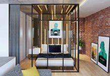 В одной комнате и спальня, и гостиная? Это реально: 7 идей