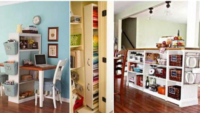 Практичные и стильные идеи повторного использования старого книжного шкафа