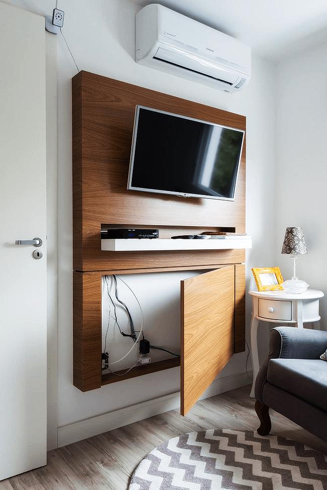 Спрятать провода в мебель