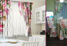 Очаровательные шторы: 20 идей, как украсить окно на кухне
