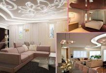 17 идей натяжных потолков в домашнем интерьере