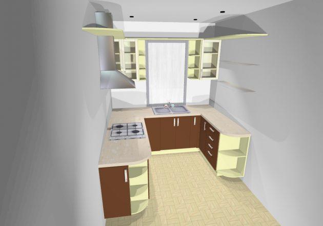 Как выбрать кухню: П-образная кухня