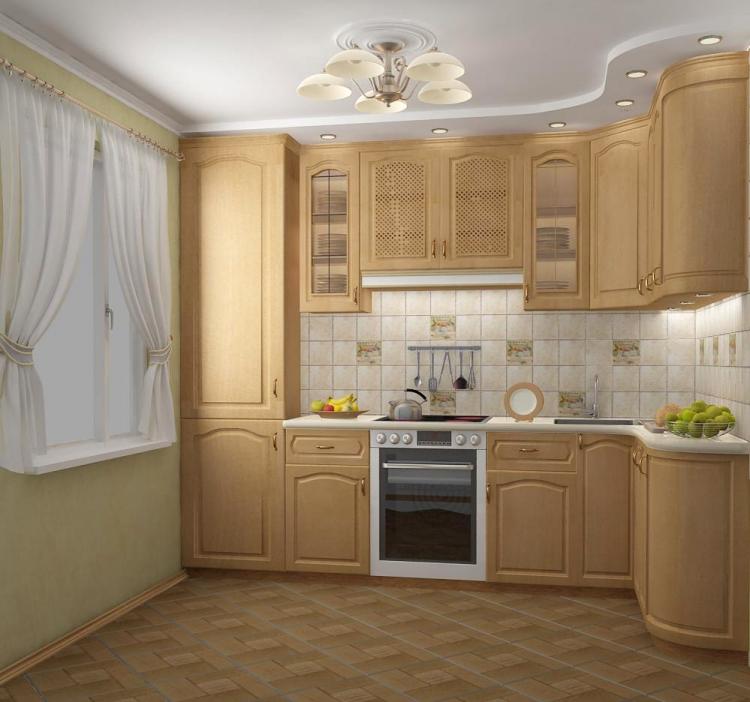 Плитка для маленькой кухни