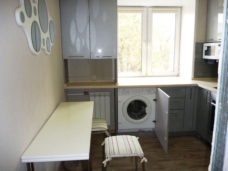 Расположение техники в небольшой кухне