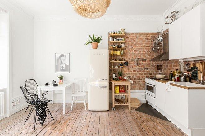 Скандинавский Кухня by Myrica Bergqvist Interior Stylist/Decorator