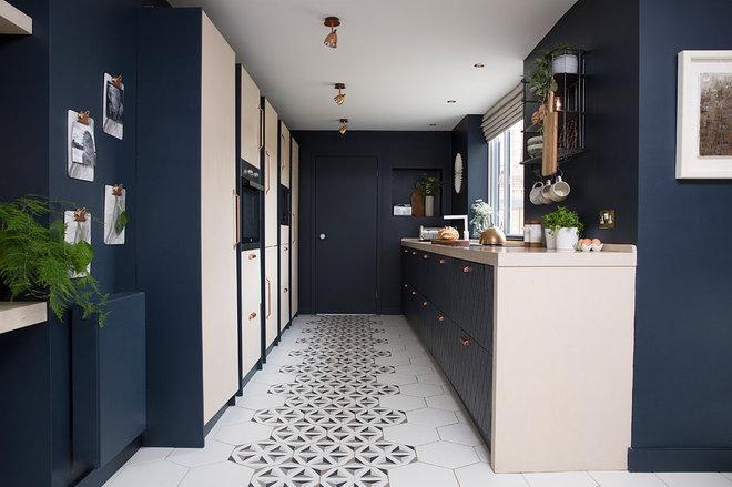 Современный Кухня by Cathy Dean Interior Design