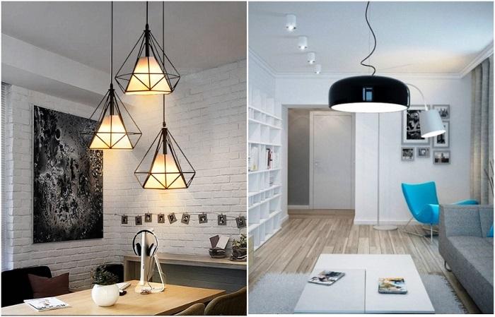 Оригинальные светильники - украшение комнаты