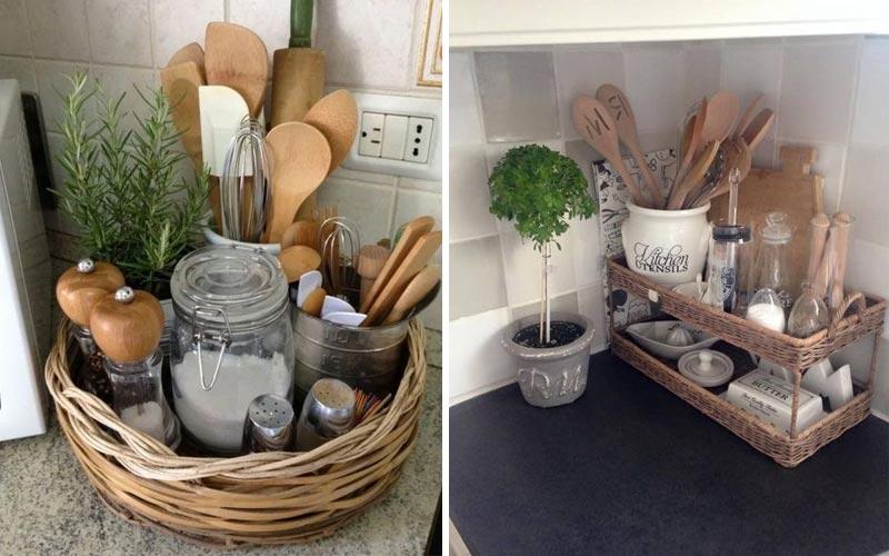 Хранение мелочей на кухне - 3