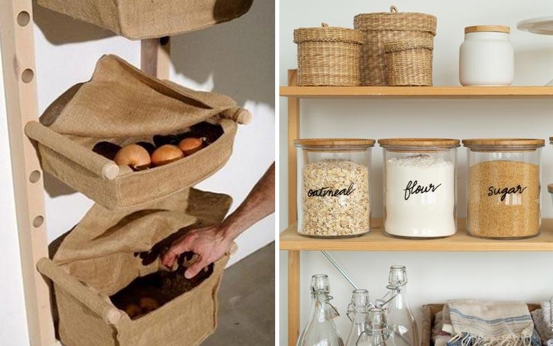 Удобные места хранения на кухне - 5