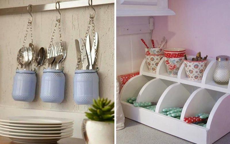 Удобные места хранения на кухне - модули 4
