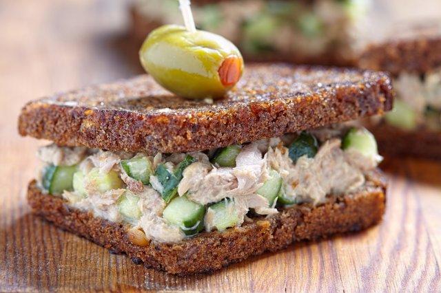 Сэндвичи с рыбой
