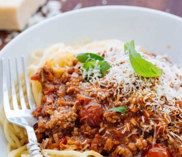 Мясная подлива к спагетти - пошаговый рецепт