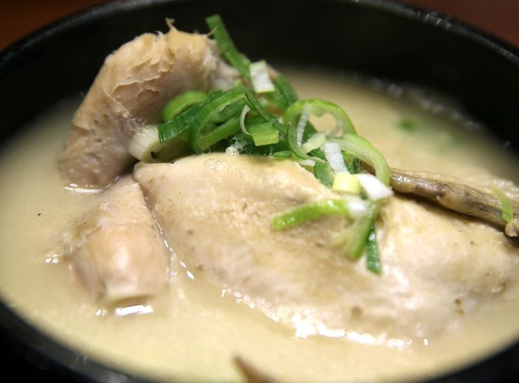 Рецепт куриного супа с зеленью