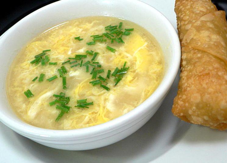 Рецепт приготовления куриного супа с яйцом