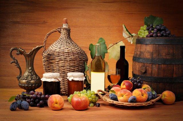 Вино и варенье